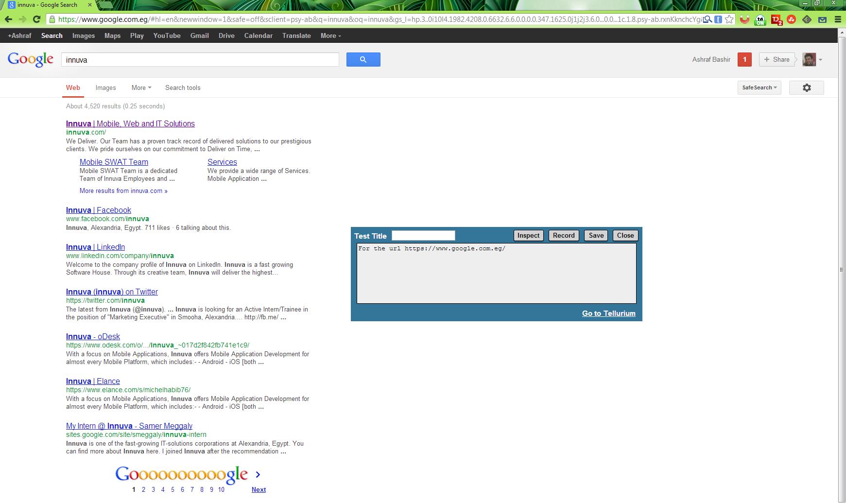 generate by tellurium screenshot 1