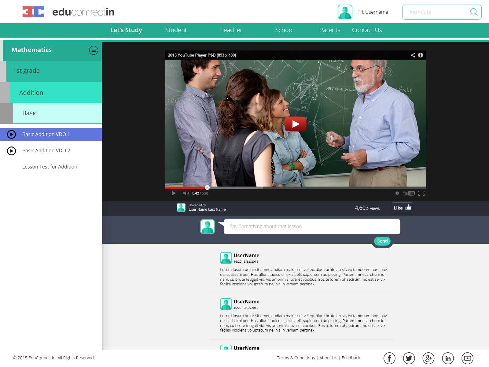istudy rrey matterz math lesson screen