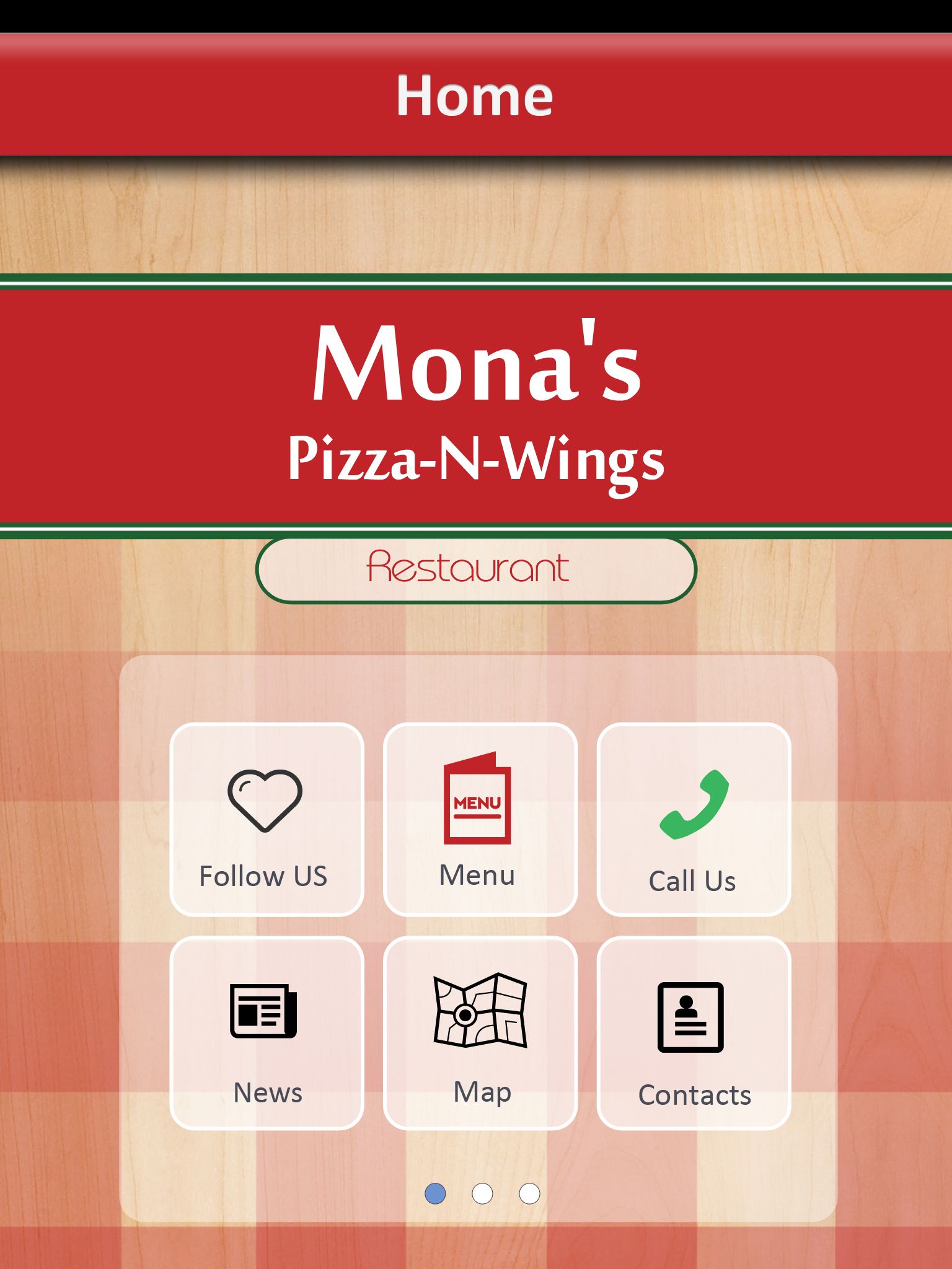 Mona's Pizza & Wings screenshot 2
