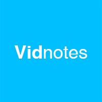 Vidnotes logo