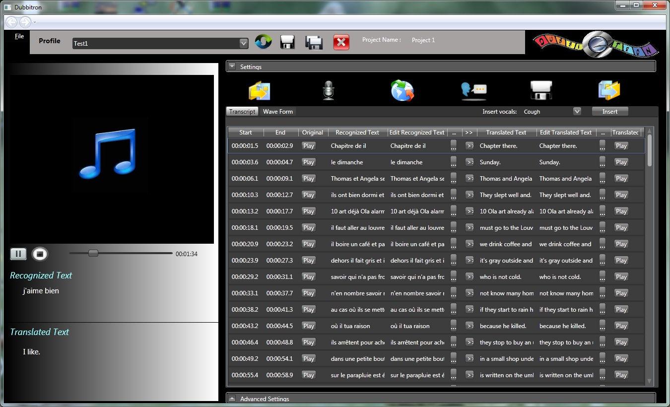 Dubbitron screenshot 2