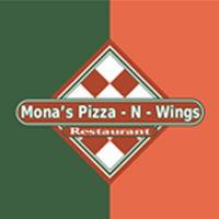 Mona's Pizza & Wings logo