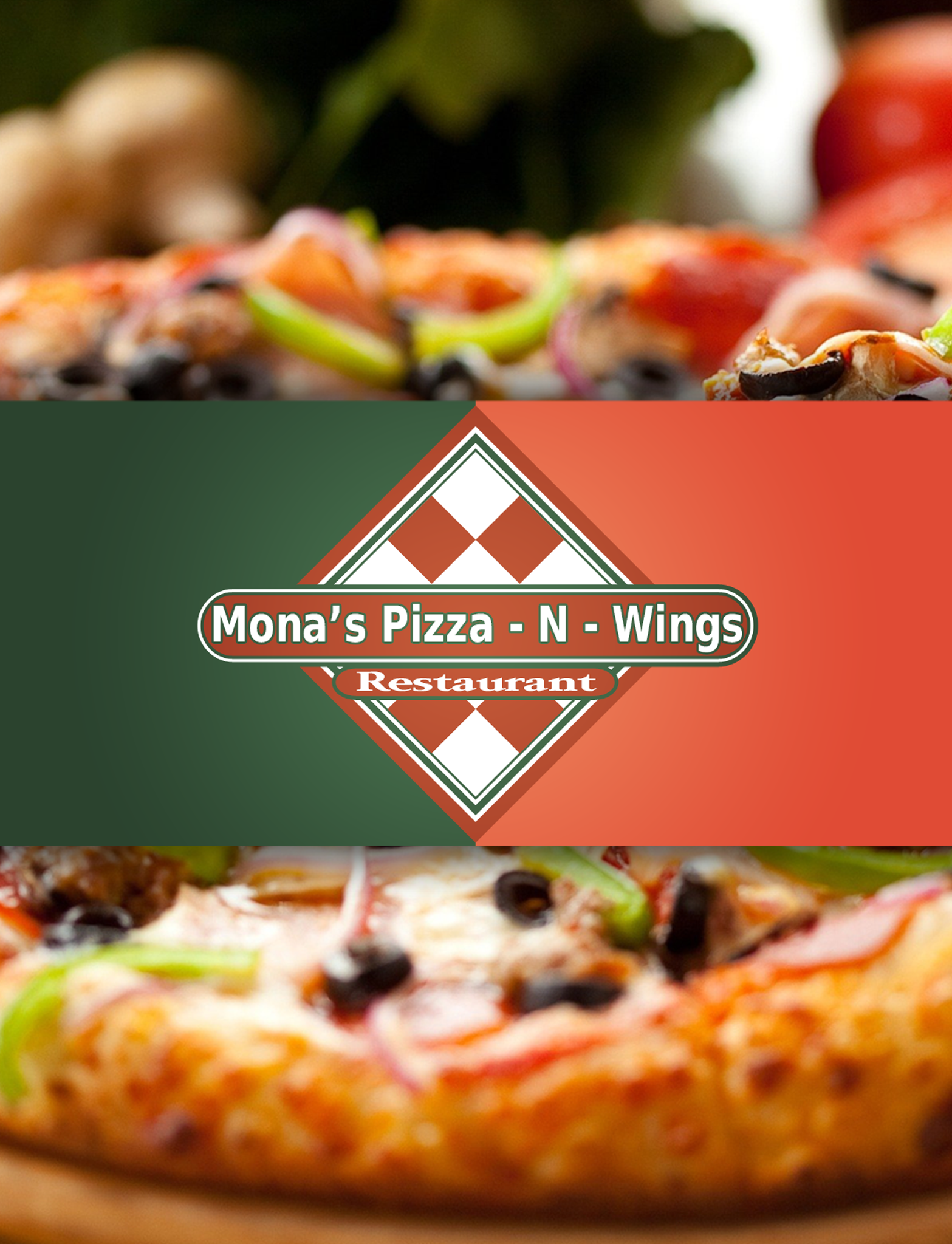 Mona's Pizza & Wings screenshot 1