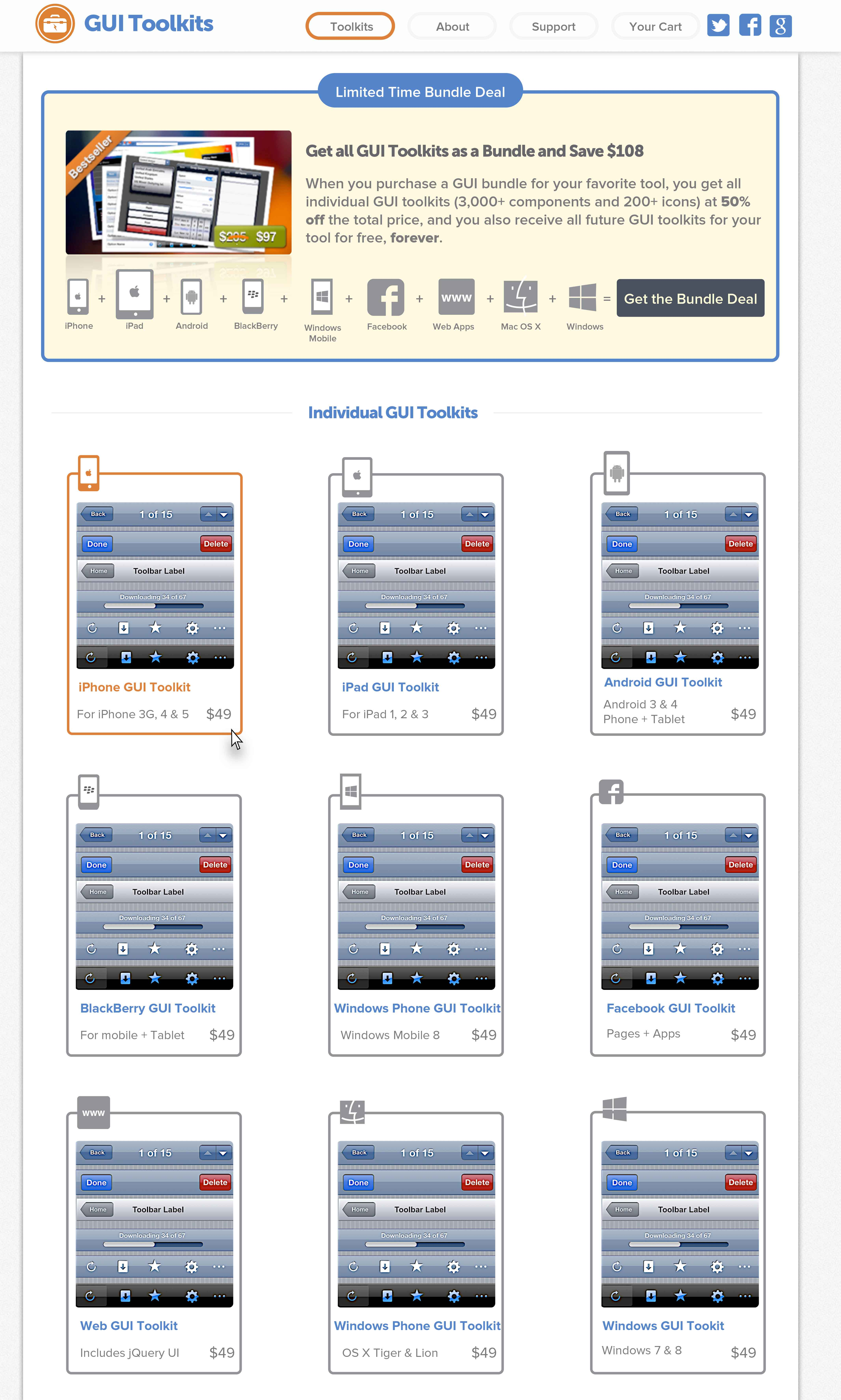 GUI Toolkits UI 2